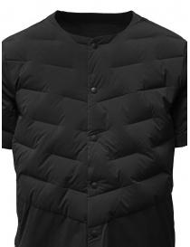 Descente short-sleeve black down jacket price