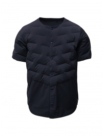 Descente blue short-sleeve padded jacket online