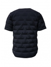 Descente blue short-sleeve padded jacket buy online