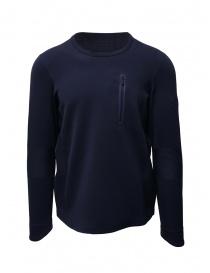 Descente Fusionknit Capsule felpa blu DAMOGA04 NVGR order online