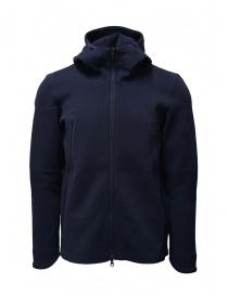 Descente Fusionknit Circuit blue hoodie sweatshirt online