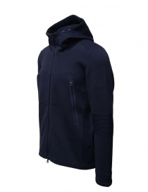 Descente Fusionknit Circuit blue hoodie sweatshirt