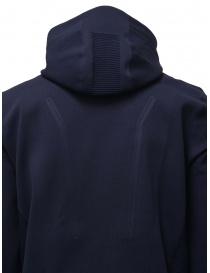 Descente Fusionknit Circuit felpa con cappuccio blu maglieria uomo prezzo
