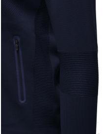 Descente Fusionknit Chrono track jacket blue mens knitwear buy online