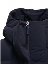 Descente Mizusawa long down jacket blue womens coats buy online