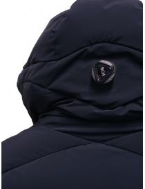 Descente Mizusawa long down jacket blue womens coats price
