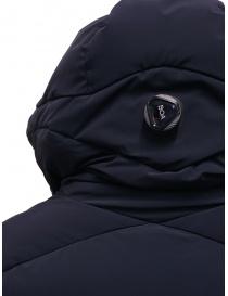 Descente Mizusawa piumino lungo blu cappotti donna prezzo