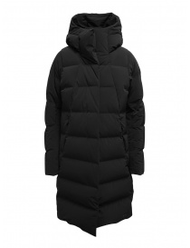 Womens coats online: Allterrain Descente Mizusawa black long down jacket
