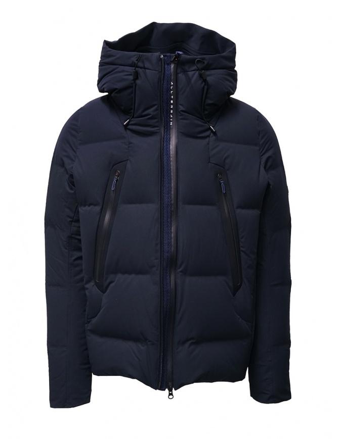 Descente Mizusawa Mountainer blue jacket DAMOGK30U NVGR mens jackets online shopping