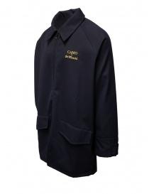 Camo X De Marchi jacket in blue technical fabric price