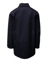 Camo X De Marchi jacket in blue technical fabric mens suit jackets buy online