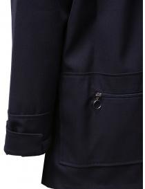 Camo X De Marchi jacket in blue technical fabric mens suit jackets price