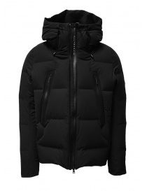Mens jackets online: Descente Mizusawa Mountaineer black down jacket