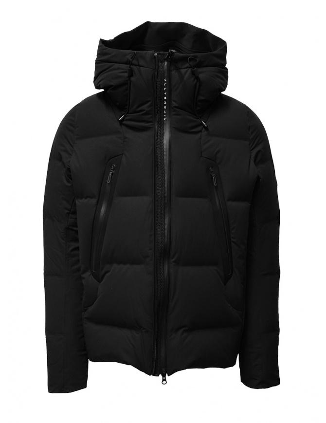 Descente Mizusawa Mountaineer black down jacket DIA3670U BLK mens jackets online shopping