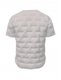 Descente white short-sleeve down jacket
