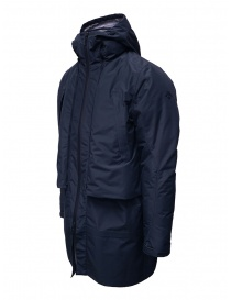 Descente Transform cappotto imbottito blu