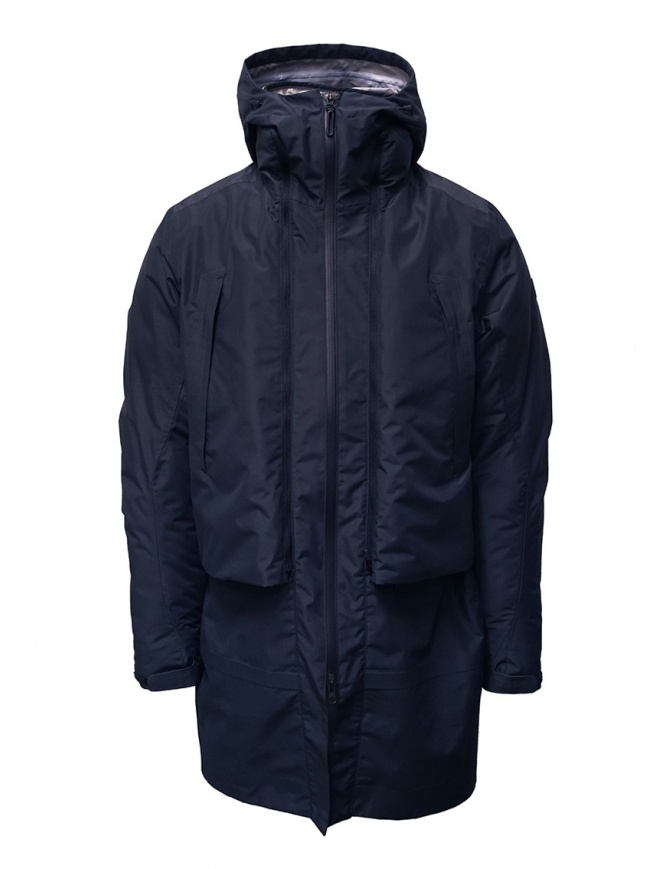 Descente Transform down blue coat DAMOGC37 NVGR mens coats online shopping