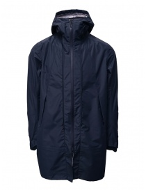 Descente Transform down blue coat mens coats buy online