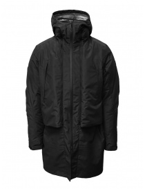 Descente Transformer black down coat DAMOGC37 BK