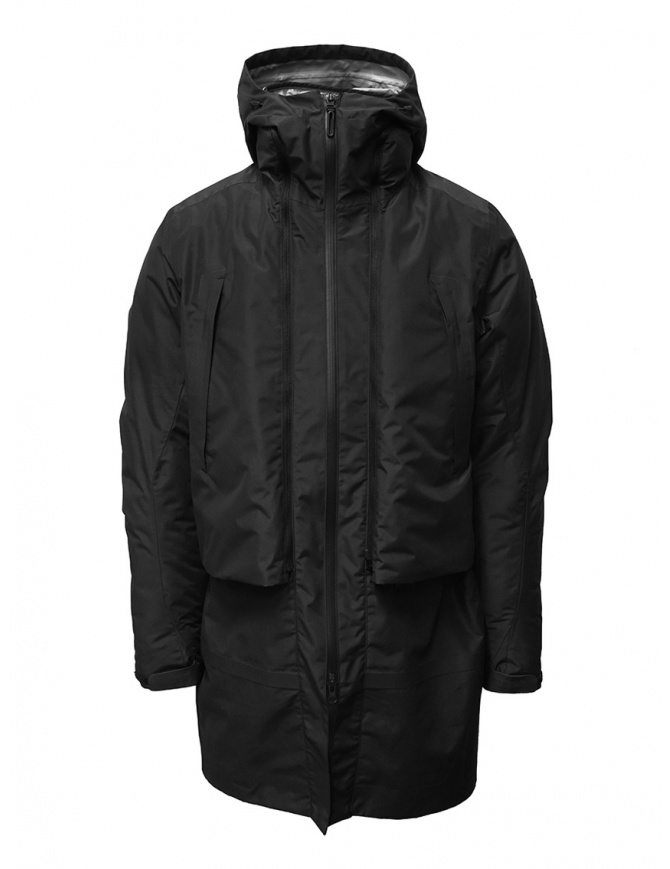 Descente Transformer black down coat DAMOGC37 BK mens coats online shopping