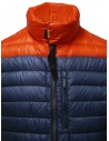 Parajumpers Bredford blue and orange down jacket PMJCKSX13 BREDFORD ORANGE buy online