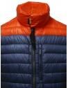 Parajumpers piumino Bredford blu e arancio PMJCKSX13 BREDFORD ORANGE acquista online