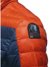 Parajumpers Bredford blue and orange down jacket buy online price