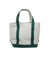 L.L. Bean Boat and Tote white and green handbag price
