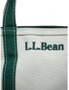 L.L. Bean Boat and Tote white and green handbag OSLV3 52001 BAG DARK GREEN buy online