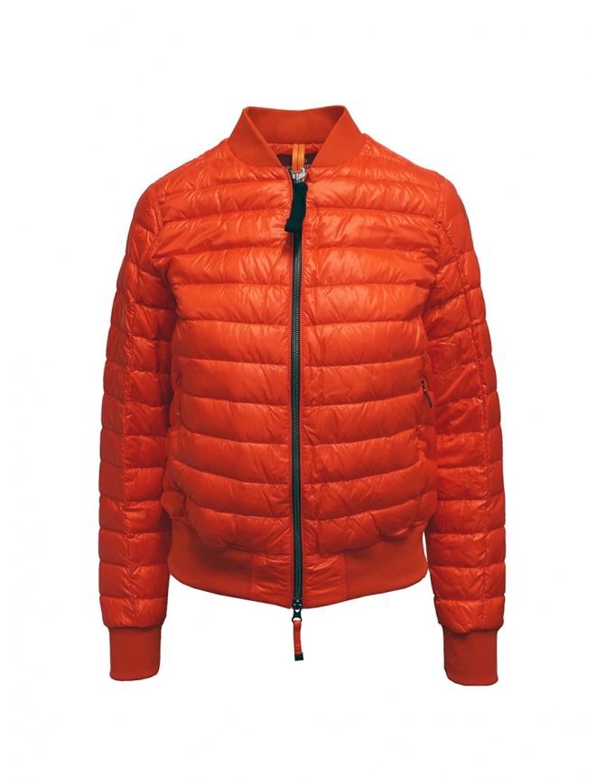 Parajumpers Sharyl orange padded bomber jacket PWJCKSX33 SHARYL ORANGE womens jackets online shopping