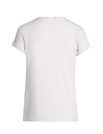 Parajumpers Unique white t-shirt with front print