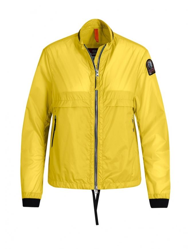 Parajumpers Soro yellow windbreaker PWJCKSA31 SORO LEMON womens jackets online shopping