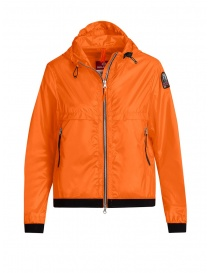 Parajumpers Ibuki orange hoodie windbreaker online
