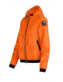 Parajumpers Ibuki orange hoodie windbreaker