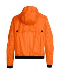 Parajumpers Ibuki orange hoodie windbreaker price
