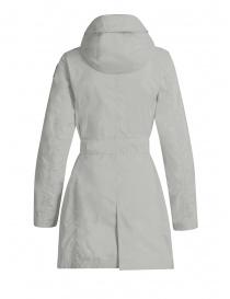 Parajumpers Avery giacca lunga impermeabile bianca prezzo