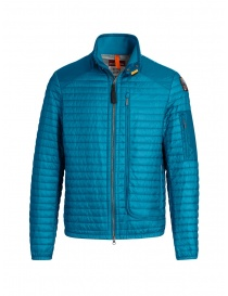 Parajumpers Roger thin peacock-colored down jacket PMJCKEI12 ROGER 2 PEACOCK order online