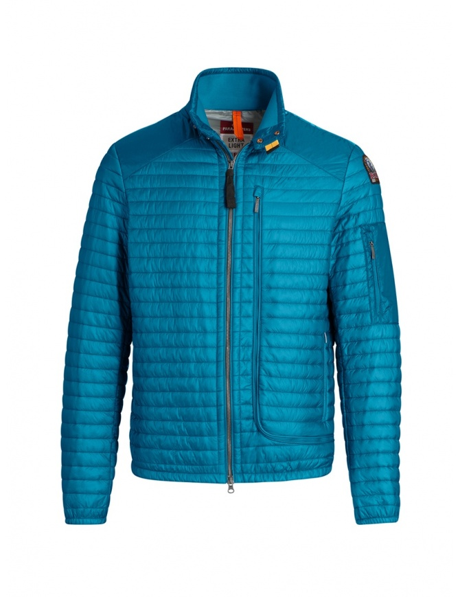 Parajumpers Roger thin peacock-colored down jacket PMJCKEI12 ROGER 2 PEACOCK mens jackets online shopping