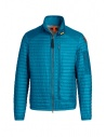 Parajumpers Roger thin peacock-colored down jacket buy online PMJCKEI12 ROGER 2 PEACOCK