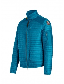 Parajumpers Roger thin peacock-colored down jacket