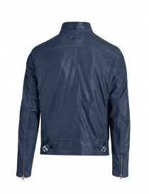 Parajumpers Justin blue lamb leather jacket price