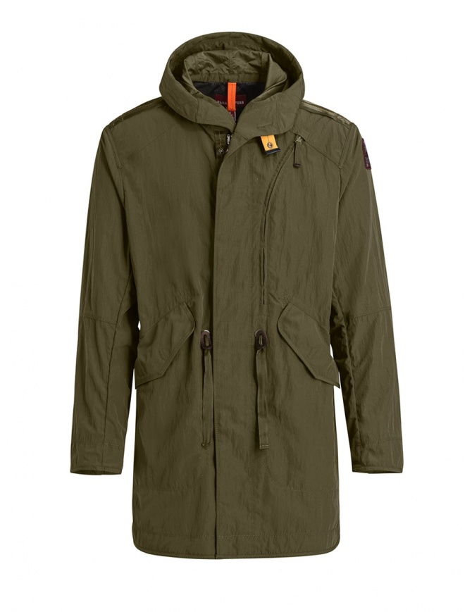 Parajumpers Tank military green parka PMJCKMA03 TANK S.MILITARY mens jackets online shopping