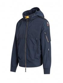 Parajumpers Naos navy blue hoodie jacket
