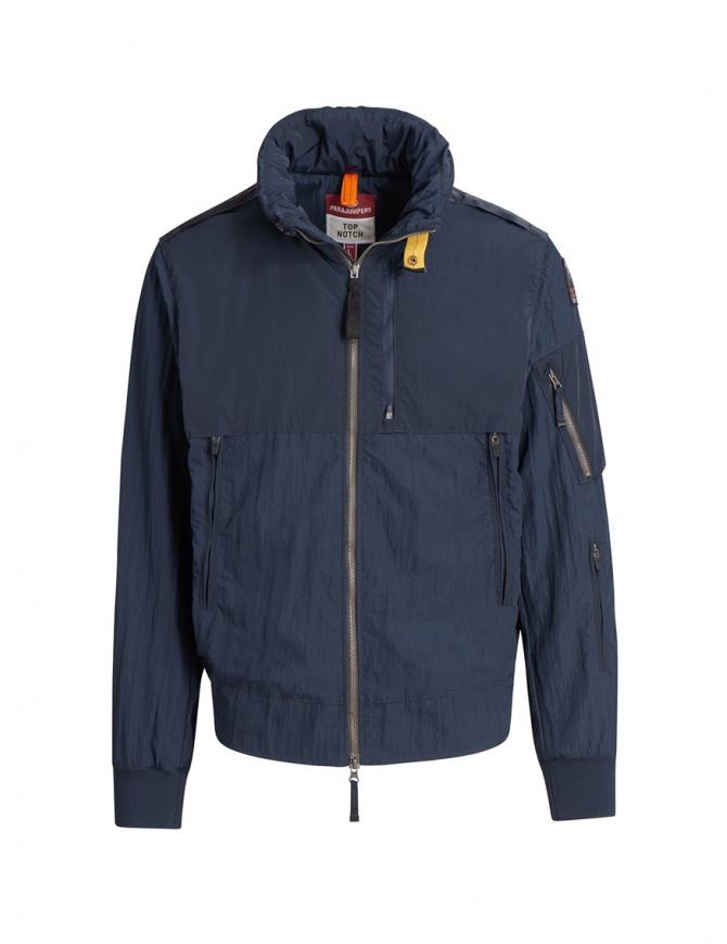 Parajumpers Naos navy blue hoodie jacket PMJCKTP01 NAOS NAVY mens jackets online shopping