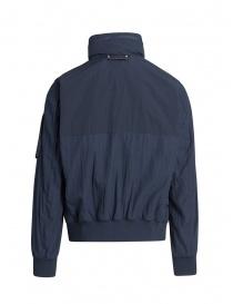 Parajumpers Naos navy blue hoodie jacket price