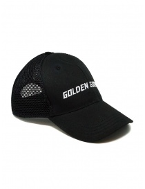 Hats and caps online: Golden Goose black baseball cap with net