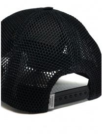Golden Goose black baseball cap with net hats and caps price