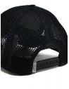 Golden Goose berretto da baseball nero con retina prezzo G36MA596.A1 BLK/WHT EMB.shop online