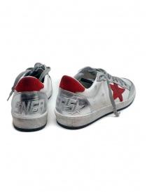 Golden Goose Ball Star sneaker bianca rossa prezzo