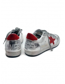Golden Goose Ball Star white red sneaker price